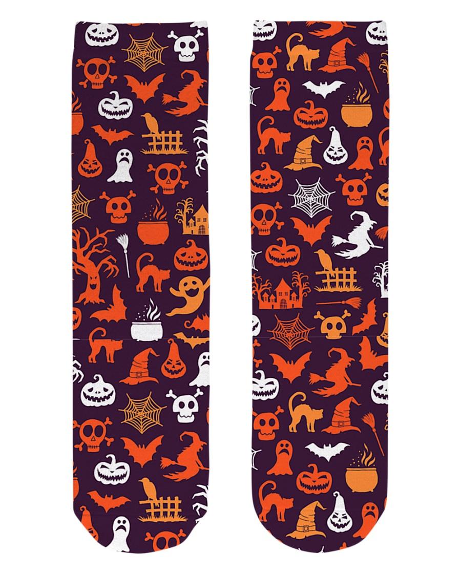 Halloween Socks Crew Length Socks