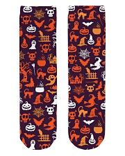 Halloween Socks Crew Length Socks front