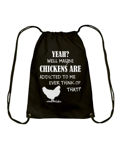 Chickens Drawstring Bag