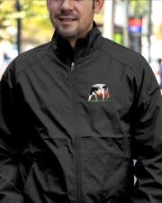 Cow Jacket Lightweight Jacket garment-embroidery-jacket-lifestyle-02