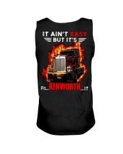 It Ain't Easy Trucker Unisex Tank thumbnail