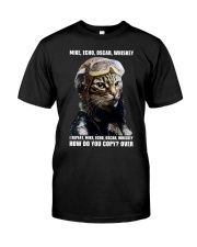 How Do You Copy Whiskey Classic T-Shirt front