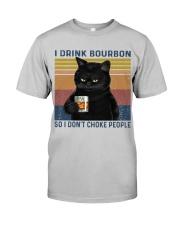 I Drink Bourbon Classic T-Shirt tile