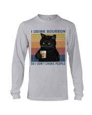 I Drink Bourbon Long Sleeve Tee thumbnail
