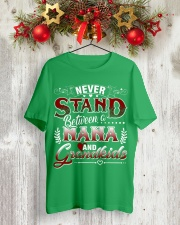 NANA AND GRANDKIDS Classic T-Shirt lifestyle-holiday-crewneck-front-2