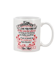 MY DAUGHTER - LOVE MOM  Mug thumbnail
