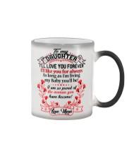 MY DAUGHTER - LOVE MOM  Color Changing Mug thumbnail