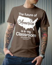 THE FUTURE OF AMERICA Classic T-Shirt lifestyle-mens-crewneck-front-6
