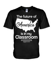 THE FUTURE OF AMERICA V-Neck T-Shirt thumbnail