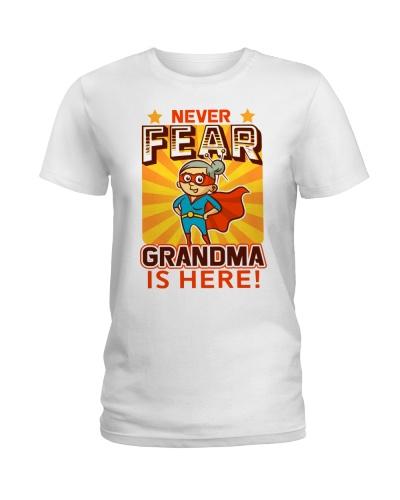 GRANDMA IS HERE