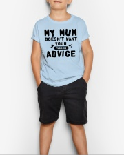 MY MUM - YOUR ADVICE Youth T-Shirt lifestyle-youth-tshirt-front-1