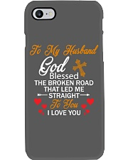 TO MY HUSBAND - PHONE CASE - GOD BLESSED Phone Case i-phone-7-case