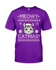 MOEWY CATMAS Classic T-Shirt front