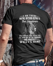 PROTECT WHAT'S MINE Classic T-Shirt lifestyle-mens-crewneck-back-2