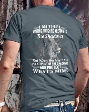 PROTECT WHAT'S MINE Classic T-Shirt lifestyle-mens-crewneck-back-2