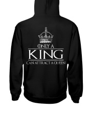 ONLY A KING CAN ATTRACT A QUEEN Hooded Sweatshirt thumbnail