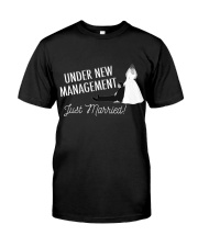 JUST MARRIED Classic T-Shirt front
