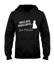 JUST MARRIED Hooded Sweatshirt thumbnail