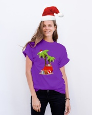 TROPICAL XMAS Classic T-Shirt lifestyle-holiday-crewneck-front-1
