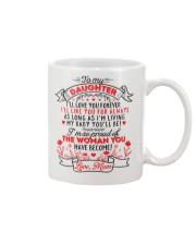 TO MY DAUGHTER - LOVE MOM  Mug thumbnail
