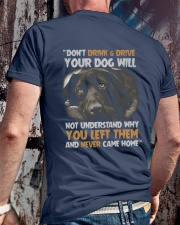 FOR DOG OWNERS Classic T-Shirt lifestyle-mens-crewneck-back-2