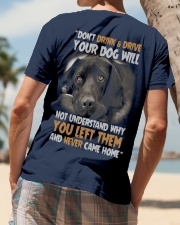 FOR DOG OWNERS Classic T-Shirt lifestyle-mens-crewneck-back-4
