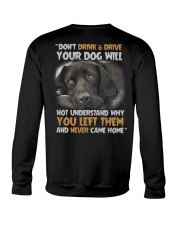 FOR DOG OWNERS Crewneck Sweatshirt thumbnail