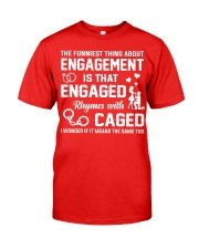 ENGAGED - CAGED Classic T-Shirt front
