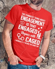 ENGAGED - CAGED Classic T-Shirt lifestyle-mens-crewneck-front-4