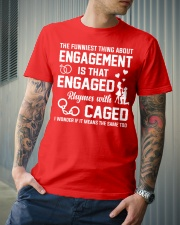 ENGAGED - CAGED Classic T-Shirt lifestyle-mens-crewneck-front-6