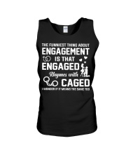 ENGAGED - CAGED Unisex Tank tile