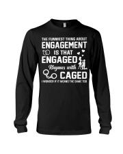 ENGAGED - CAGED Long Sleeve Tee thumbnail