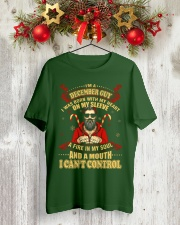 I'M A DECEMBER GUY Classic T-Shirt lifestyle-holiday-crewneck-front-2