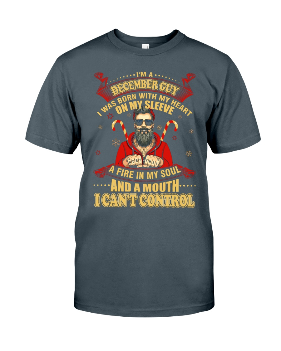 I'M A DECEMBER GUY Classic T-Shirt