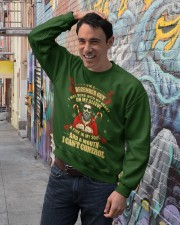 I'M A DECEMBER GUY Crewneck Sweatshirt lifestyle-unisex-sweatshirt-front-4