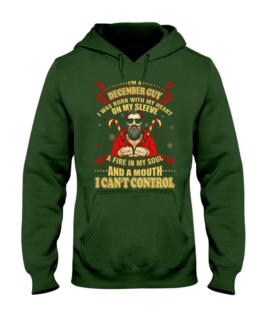 I'M A DECEMBER GUY Hooded Sweatshirt