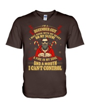 I'M A DECEMBER GUY V-Neck T-Shirt thumbnail