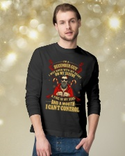 I'M A DECEMBER GUY Long Sleeve Tee lifestyle-holiday-longsleeves-front-3