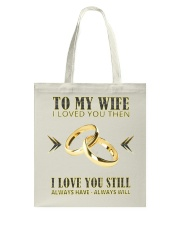 TO MY WIFE Tote Bag thumbnail
