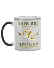 TO MY WIFE Color Changing Mug color-changing-left