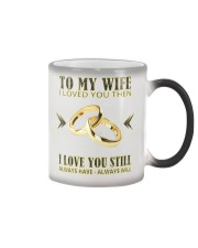 TO MY WIFE Color Changing Mug color-changing-right