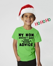 MY MOM - YOUR ADVICE Youth T-Shirt lifestyle-holiday-youth-front-1