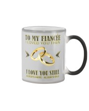 TO MY FIANCEE Color Changing Mug color-changing-right