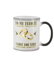 TO MY FIANCEE Color Changing Mug thumbnail