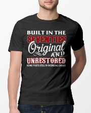 BUILT IN THE SEVENTIES Classic T-Shirt lifestyle-mens-crewneck-front-13