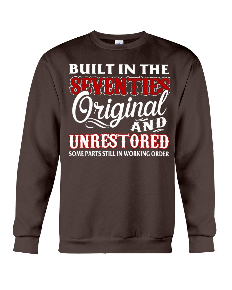 BUILT IN THE SEVENTIES Crewneck Sweatshirt