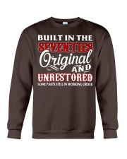 BUILT IN THE SEVENTIES Crewneck Sweatshirt front