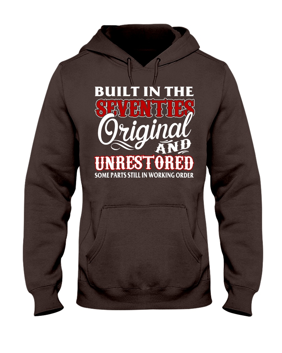 BUILT IN THE SEVENTIES Hooded Sweatshirt
