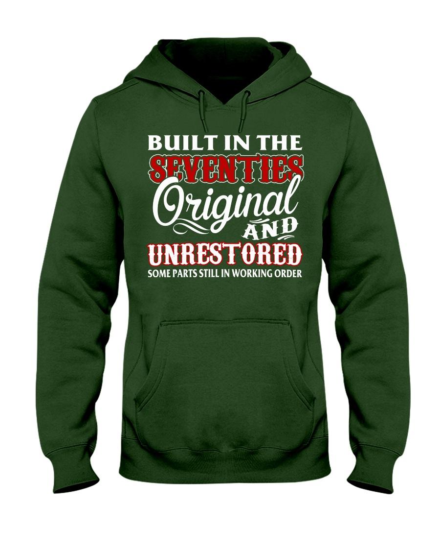 BUILT IN THE SEVENTIES Hooded Sweatshirt
