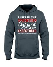 BUILT IN THE SEVENTIES Hooded Sweatshirt front